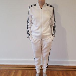 Adidas jacket and trackpants